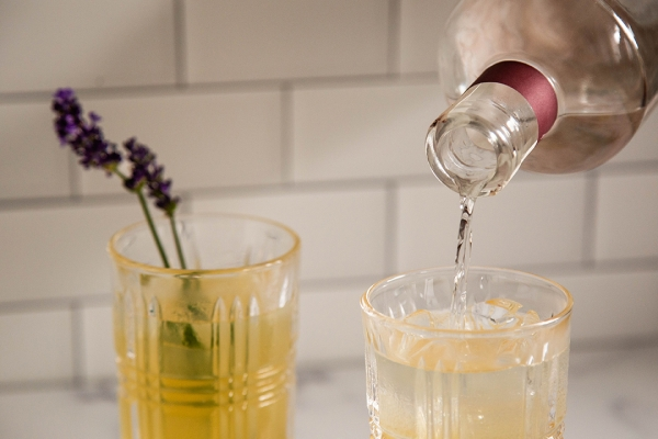 Drink: Lavender Moscow Mule