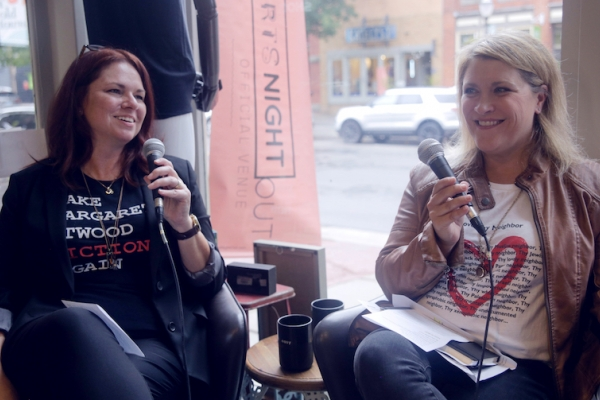 Episode: Building Community - Live at Bad Annie's, Featuring Guests Meghan Martin and Summer Schriner